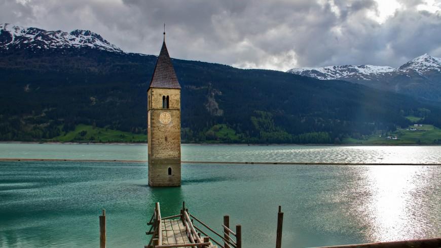 Lago di Resia, Alto Adige