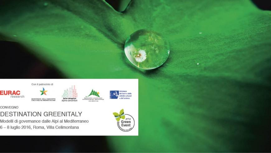 Destination Greenitaly. Modelli di governance dalle Alpi al Mediterraneo