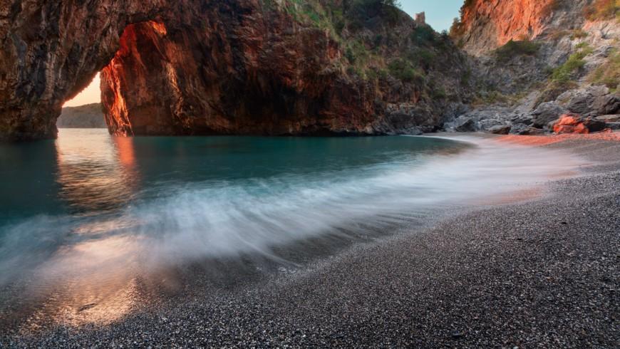 Spiaggia Arcomagno, una delle più belle della Calabria