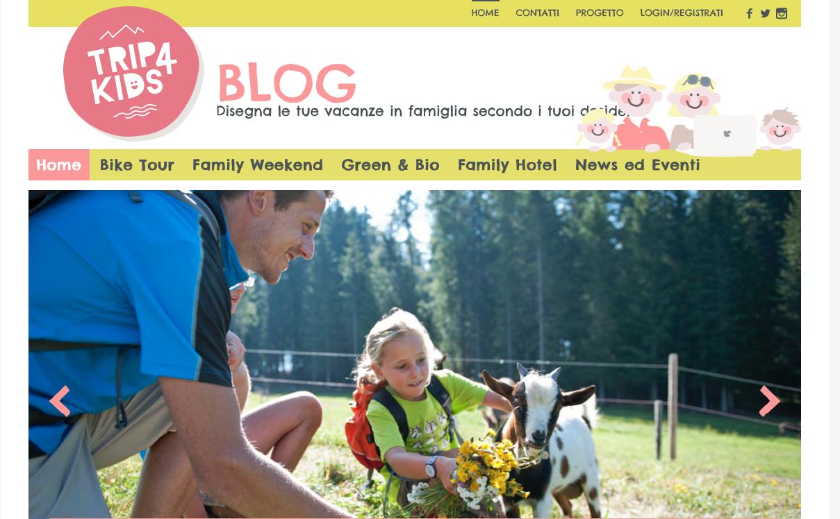 Il blog per viaggiare con i bambini Trip4kids