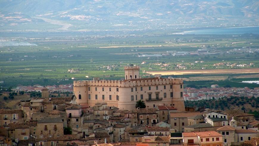 Cortigiano Calabro e il suo castello, Calabria