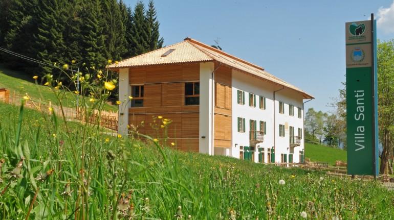 Casa Natura Villa Santi, per un soggiorno green in Trentino Alto Adige