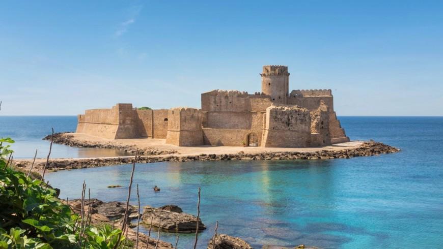 Le Castella, fortezza aragonese della Calabria