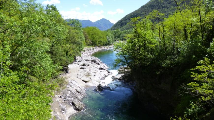 Torrente San Bernardino, Piemonte