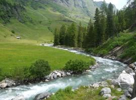 Boschi e acqua in Val Passiria, Alto Adige