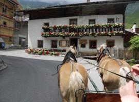 Gita in Carrozza a Plan, Val Passiria