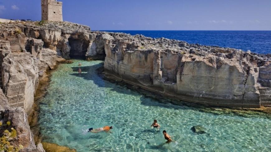 Piscina naturale di Marina Serra, Puglia