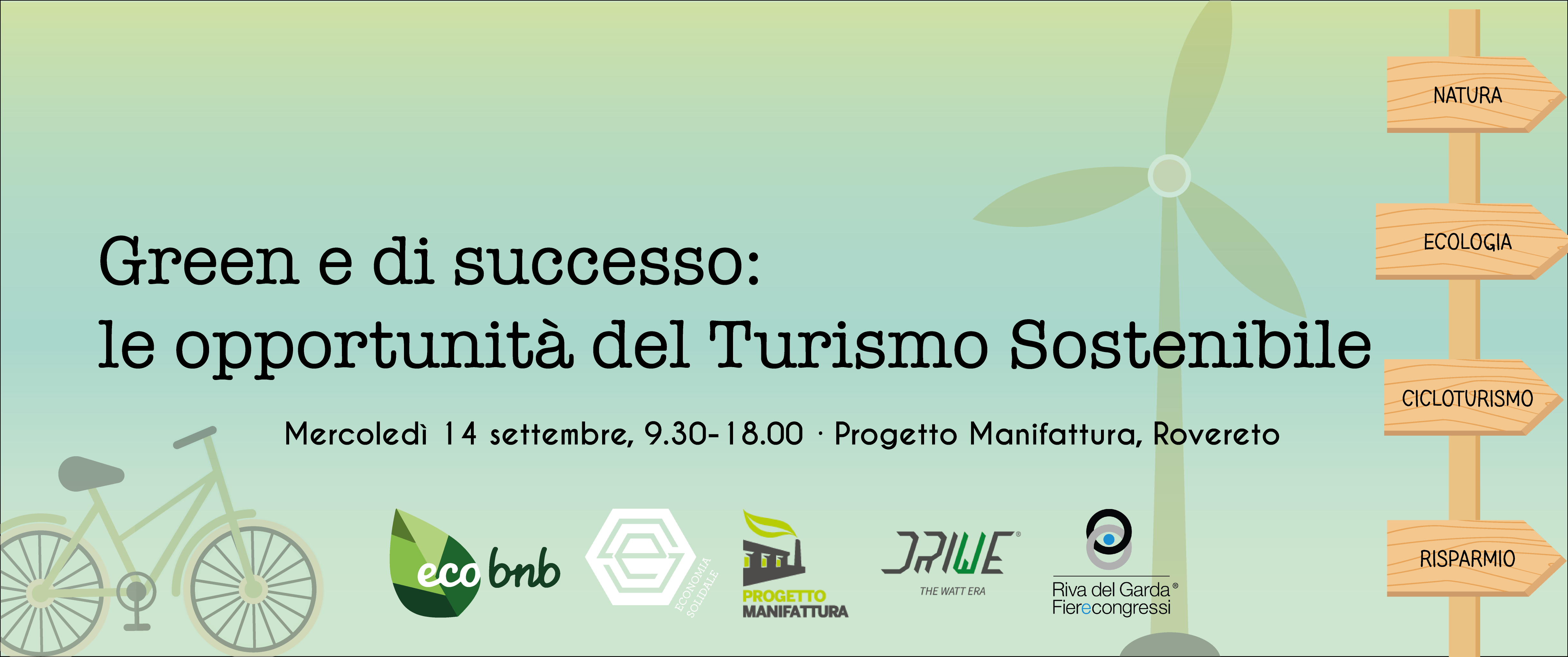 green e di successo: un educational gratuito durante la settimana dell'economia solidale trentina