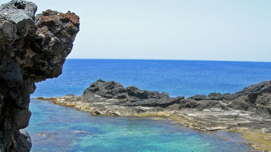 Piscina naturale di Punta Cavazzi, Sicilia