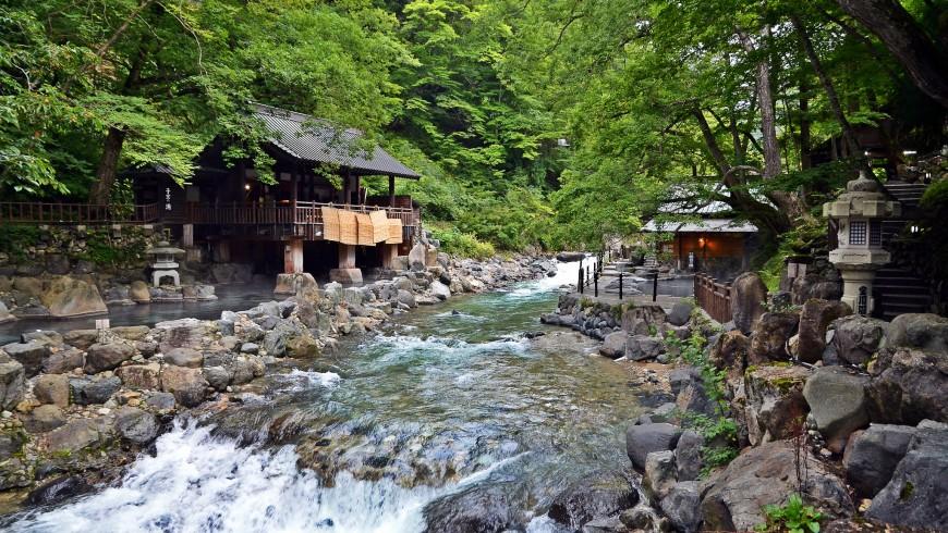 Terme naturali in Giappone