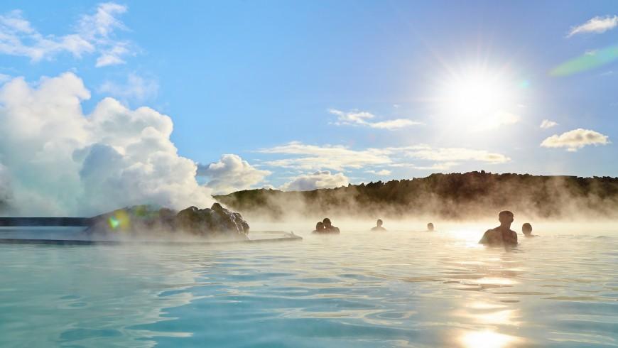Blue Lagoon, una delle piscine naturali più belle