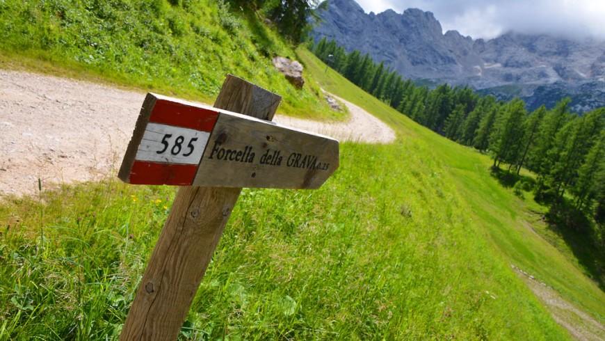 Il trekking dei poeti viandanti, nella Val di Zoldo