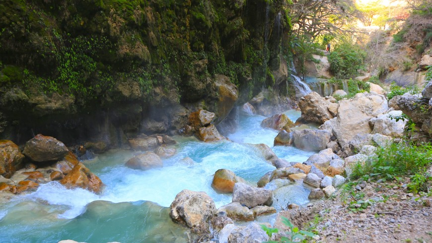 Grutas Tolantongo, Messico