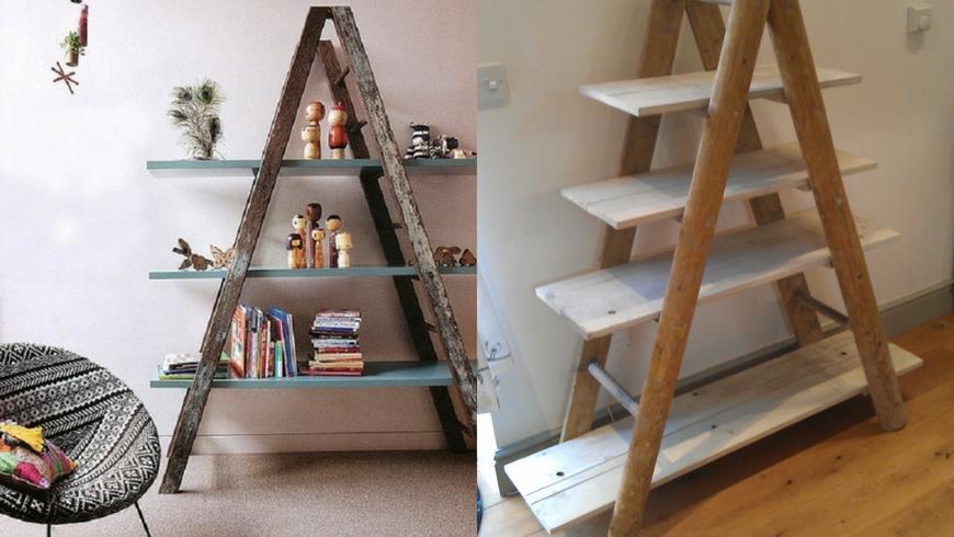 Una libreria da una vecchia scala