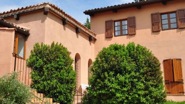 Benessere vegetariano in vacanza: B&B Casale Hortensiae, Lazio