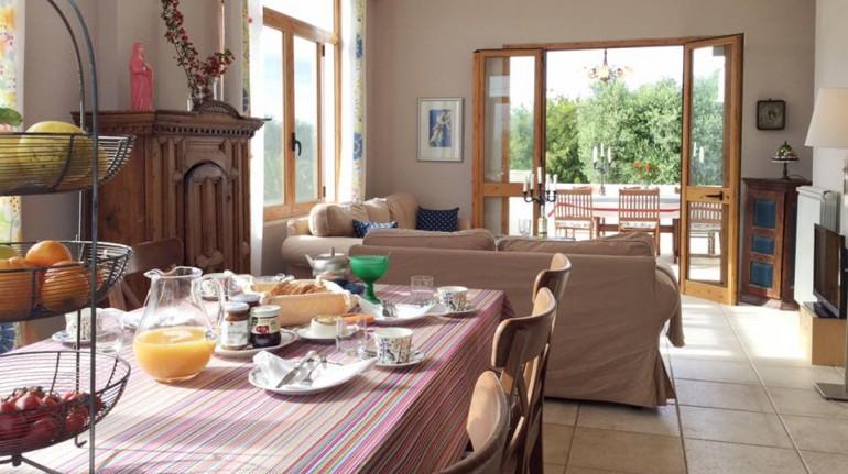 Benessere vegetariano in vacanza: Villa Luce Ecological B&B, Puglia