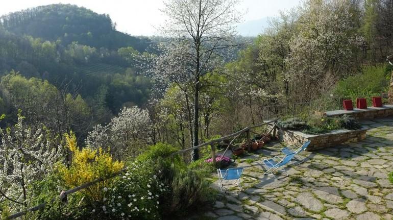 Benessere vegetariano in vacanza: Casa Payer b&b nel bosco, Piemonte