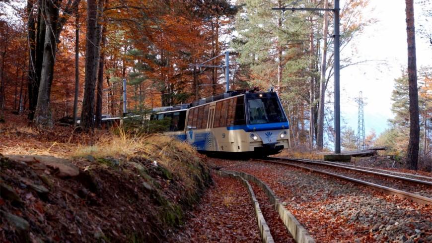 Vigezzina-Centovalli, il treno per scoprire i colori dell'autunno