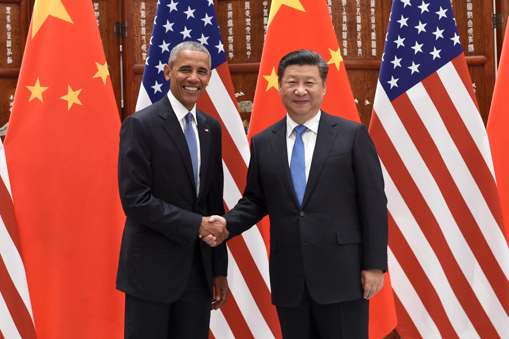 I presidenti di Stati Uniti e Cina durante il G20, dove hanno ratificato l'accordo di Parigi