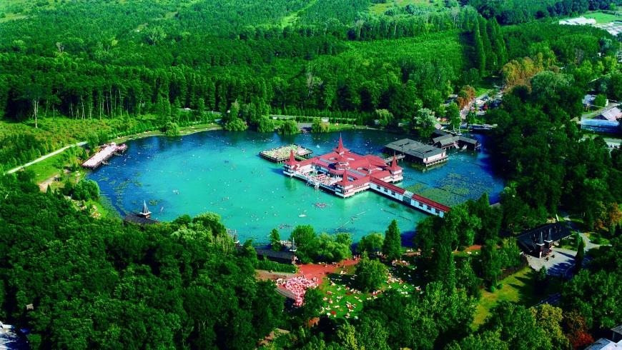 Lago di Hévíz, Ungheria