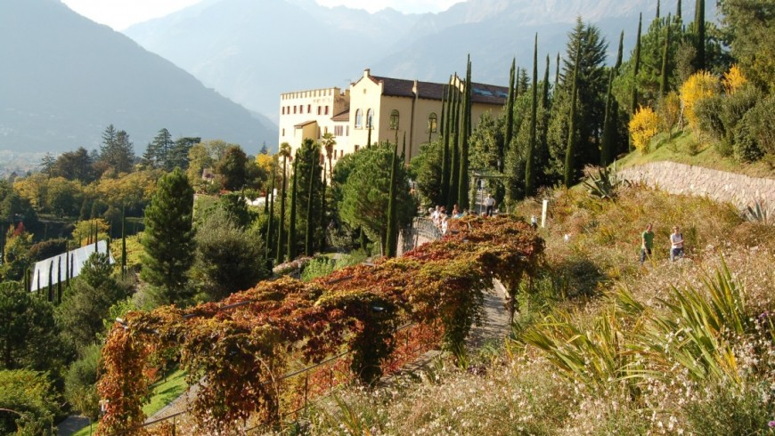 Foliage in Alto Adige, i Giardini di Sissi