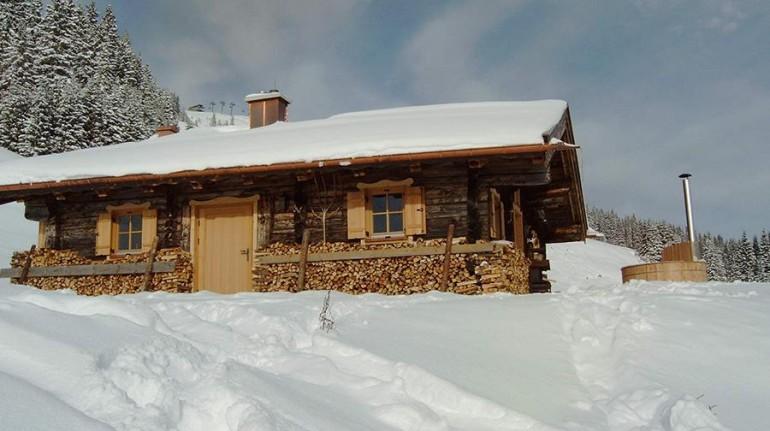Eco-chalet in Austria