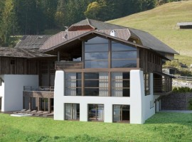 Eco-chalet in Alto Adige