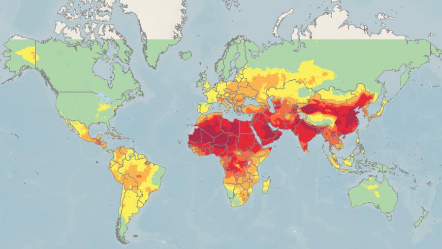 Il 92% della popolazione mondiale respira aria inquinata