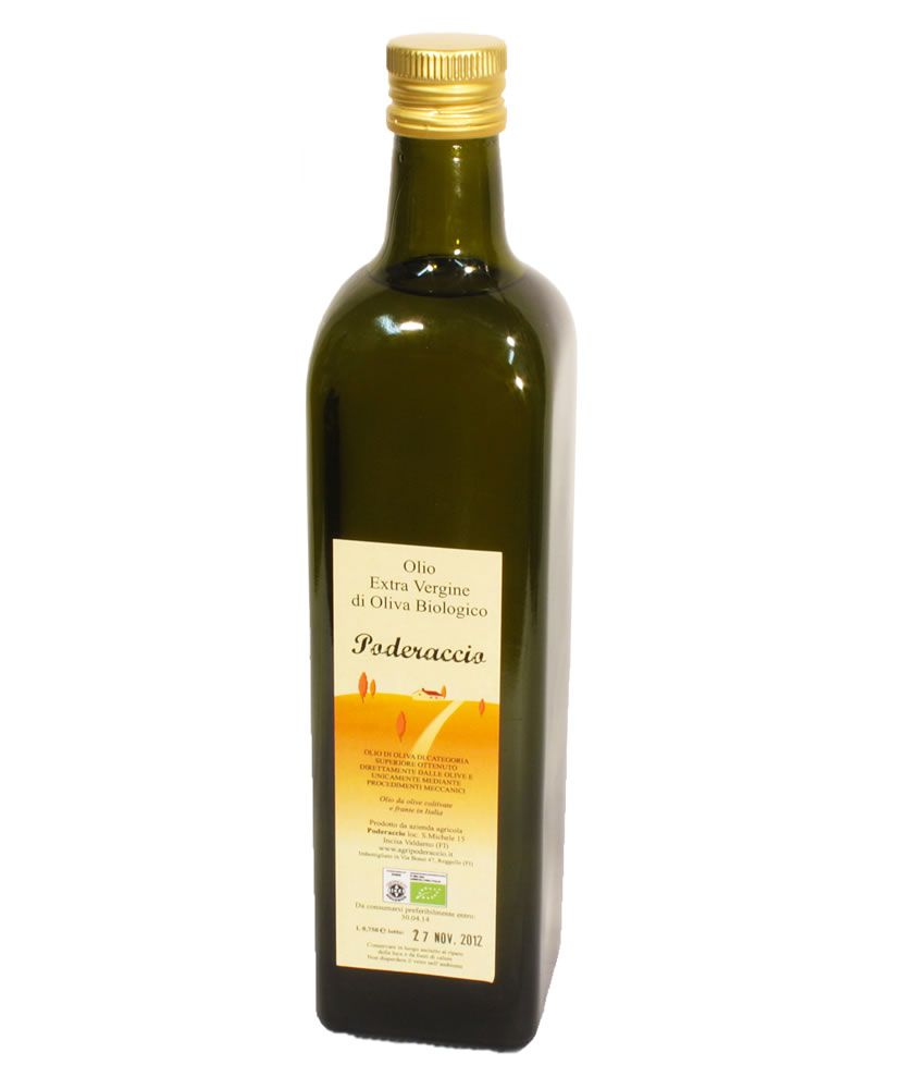 Olio d'oliva biologico online