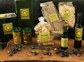 I prodotti bio dell'azienda Piccapane, nel Salento