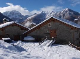 Eco-resort in Piemonte, chalet e baite di Sagna Rotonda, Cuneo