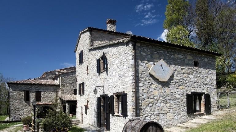 Lo charme di un antico monastero in Alta Umbria