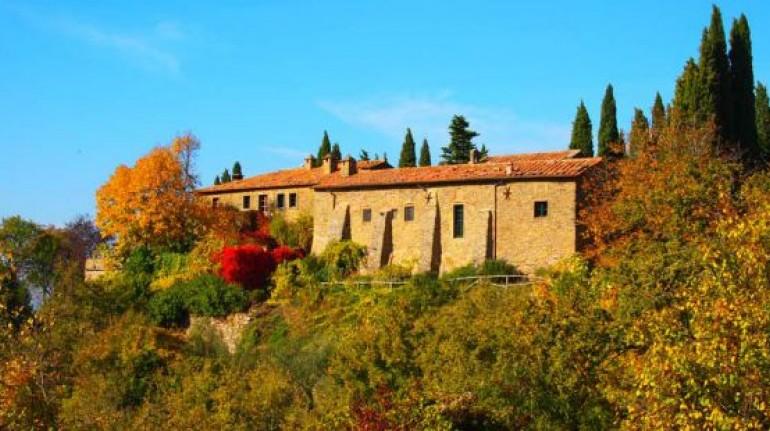 Tra Toscana e Umbria, un agriturismo biologico in un antico convento