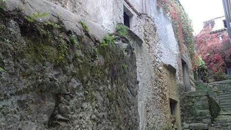 Muro di un borgo