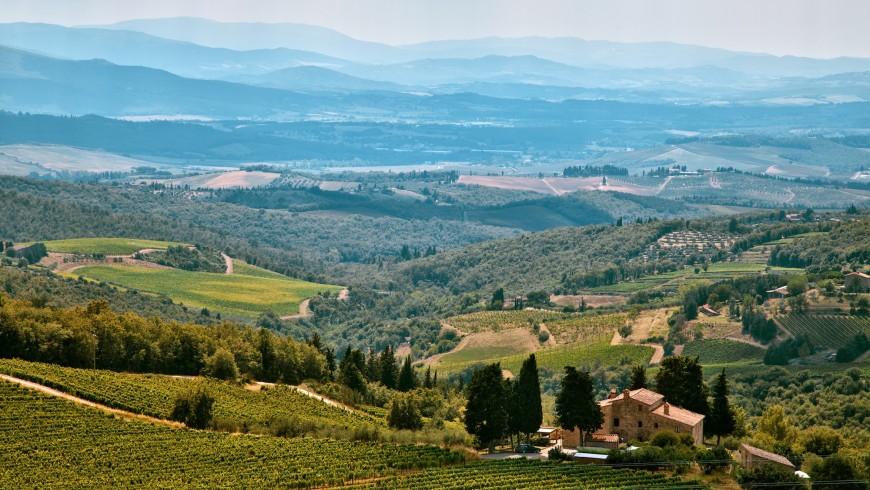 Agriturismo biologico con energia rinnovabile in Italia