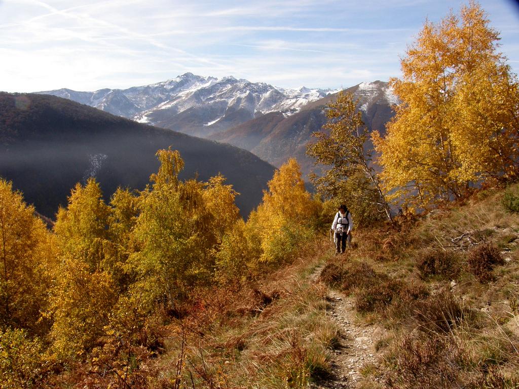 Da Limone Piemonte, a piedi nel parco delle Alpi Marittime in autunno