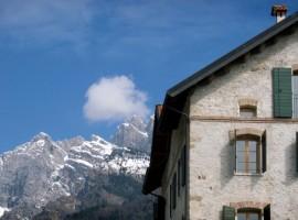 Rifugio ai piedi delle Dolomiti
