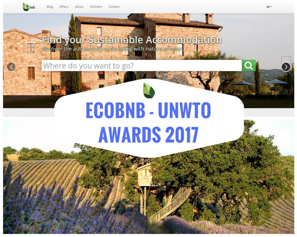 Ecobnb finalista agli UNWTO Awards 2017