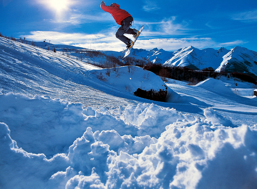 Sulla neve nella regina delle Alpi Marittime, Limone Piemonte in inverno