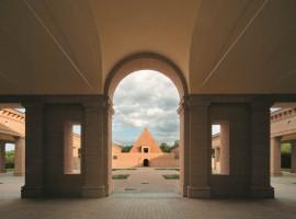 Immagine degli edifici all'interno del labirinto, foto di Mauro Davoli