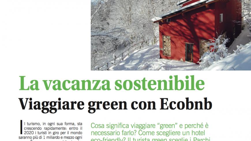 La rivista Camminare parla di Ecobnb