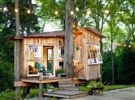 micro-casa nel verde