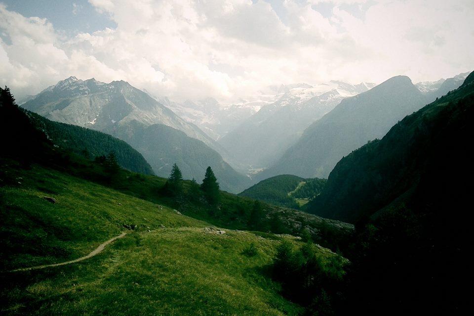 Il Gran Paradiso dal vallone di Grauson, Cogne, Alto Adige