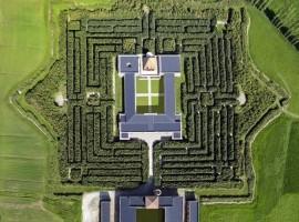 Il labirinto più grande del mondo, quello di Franco Maria Ricci, nel paesaggio della Pianura Parmense