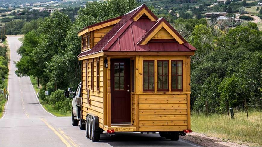 Una micro-casa per viaggiare