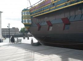 La nave del Museo Marittimo di Amsterdam