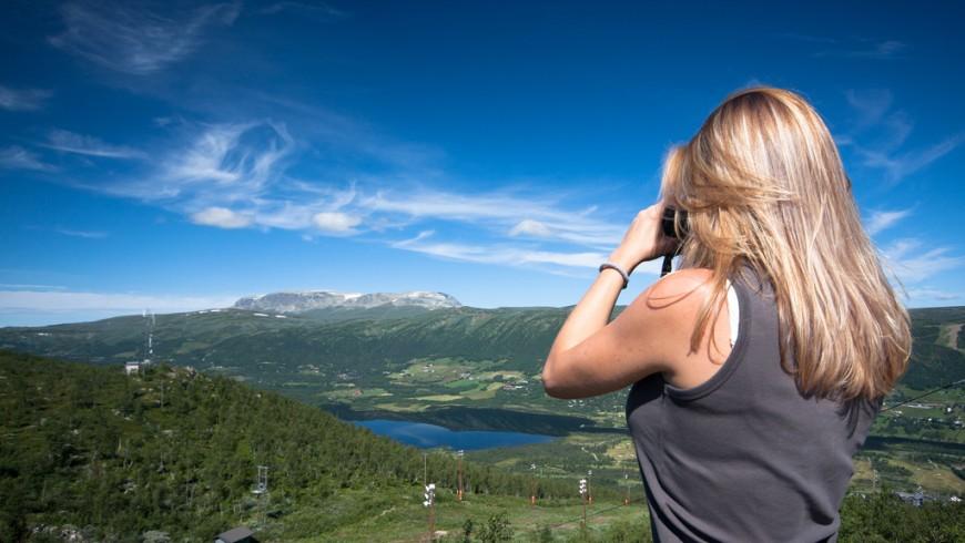 Geilo, borgo montano nel sud della Norvegia