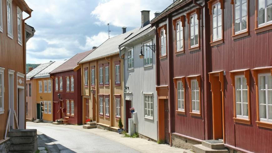 Røros, patrimonio UNESCO della Norvegia
