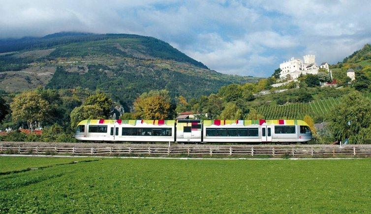 Mobilità sostenibile, treno in Val Racines