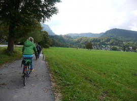 In e-bike dal centro storico al Thumsee, Bad Reichenhall, Germania